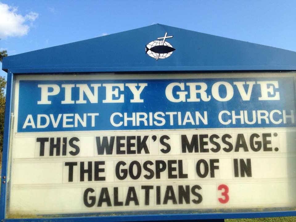 the gospel of IN