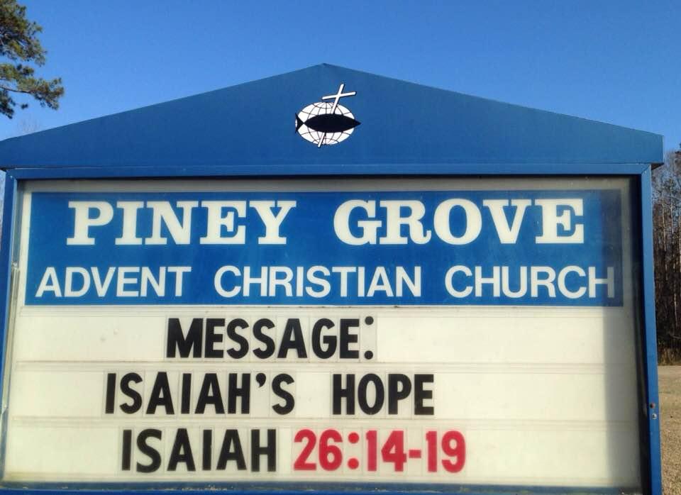 ISAIAH'S HOPE